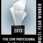 Marti Reeder earns Five Star Real Estate Professional Award for third time.