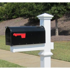 Paint or replace your worn mailbox