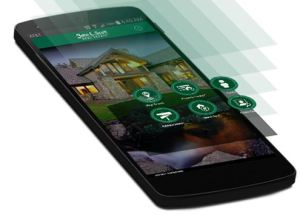 GPS Home Search App