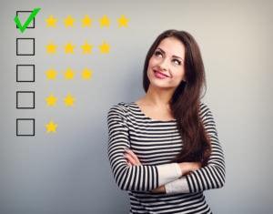 Five-star client testimonial: premium skills