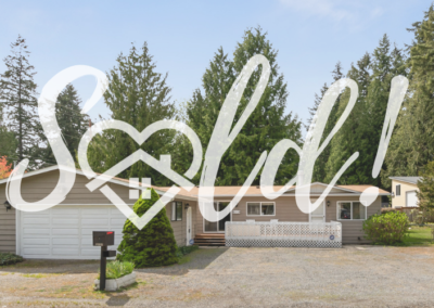 Welcome to This Home on its Large Lot!  – Sold